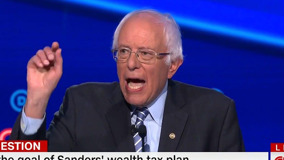 Bernie Sanders Is Not Ready to Make Nice