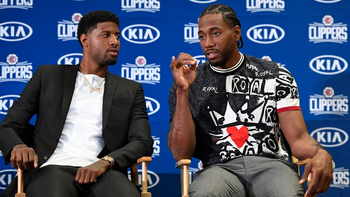 The Clippers Showed Kawhi Leonard A List Of Guys, Then Kawhi Looked At The Guys, And Picked Paul George