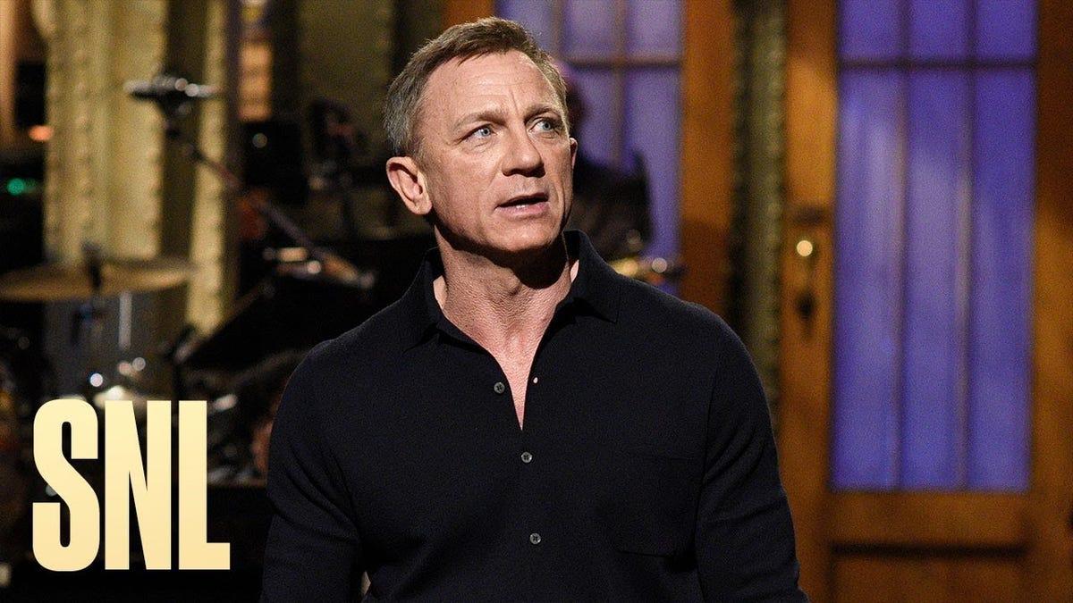 Daniel Craig's enthusiasm makes for an energetic, enjoyable SNL