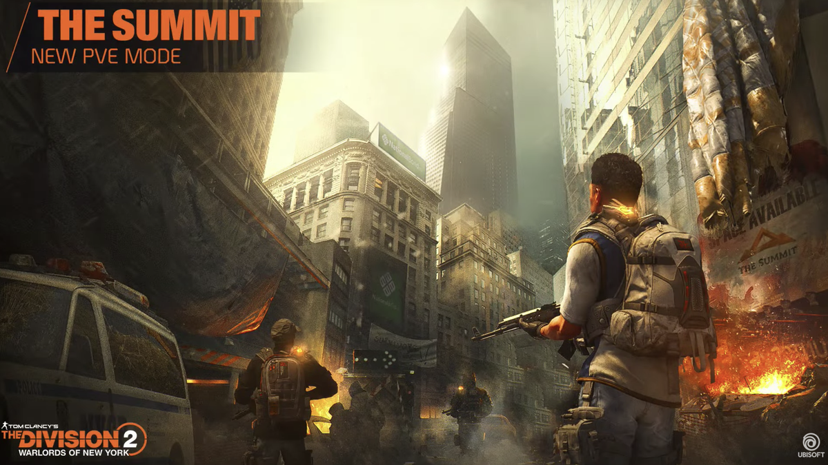 The Division 2 Is Getting A 100-Story Skyscraper Mode
