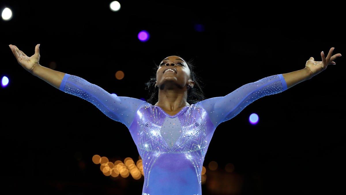 New G.O.A.T.: Simone Biles Makes History Winning 25th World Championship Medal
