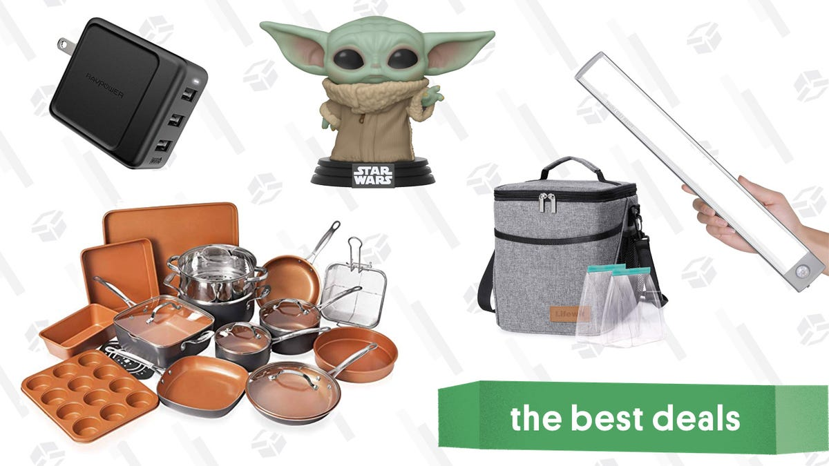 Thursday's Best Deals: BABY YODA, Free Bacon For Life, RAVPower Charger, and More