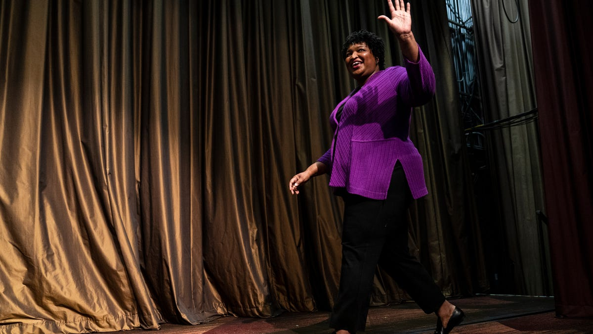 Progressives Really Want Stacey Abrams to be Joe Biden's Running-Mate and They Have the Data to Prove She's the Best Choice