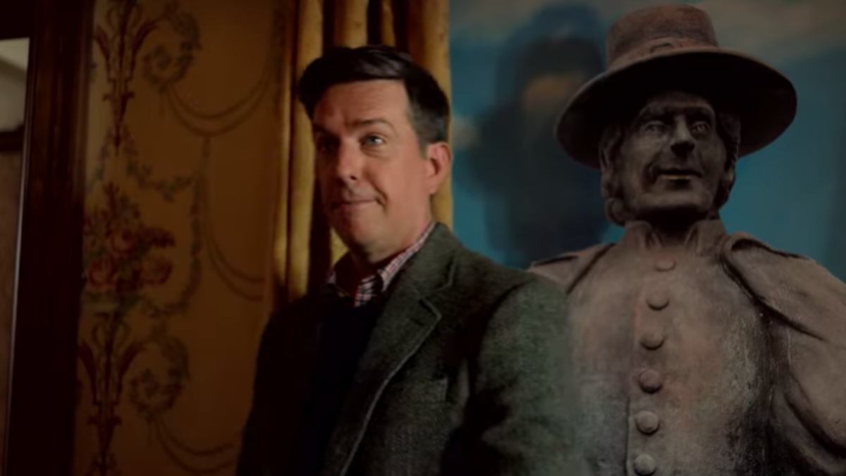 Here's the trailer for Ed Helms' new Peacock comedy Rutherford Falls