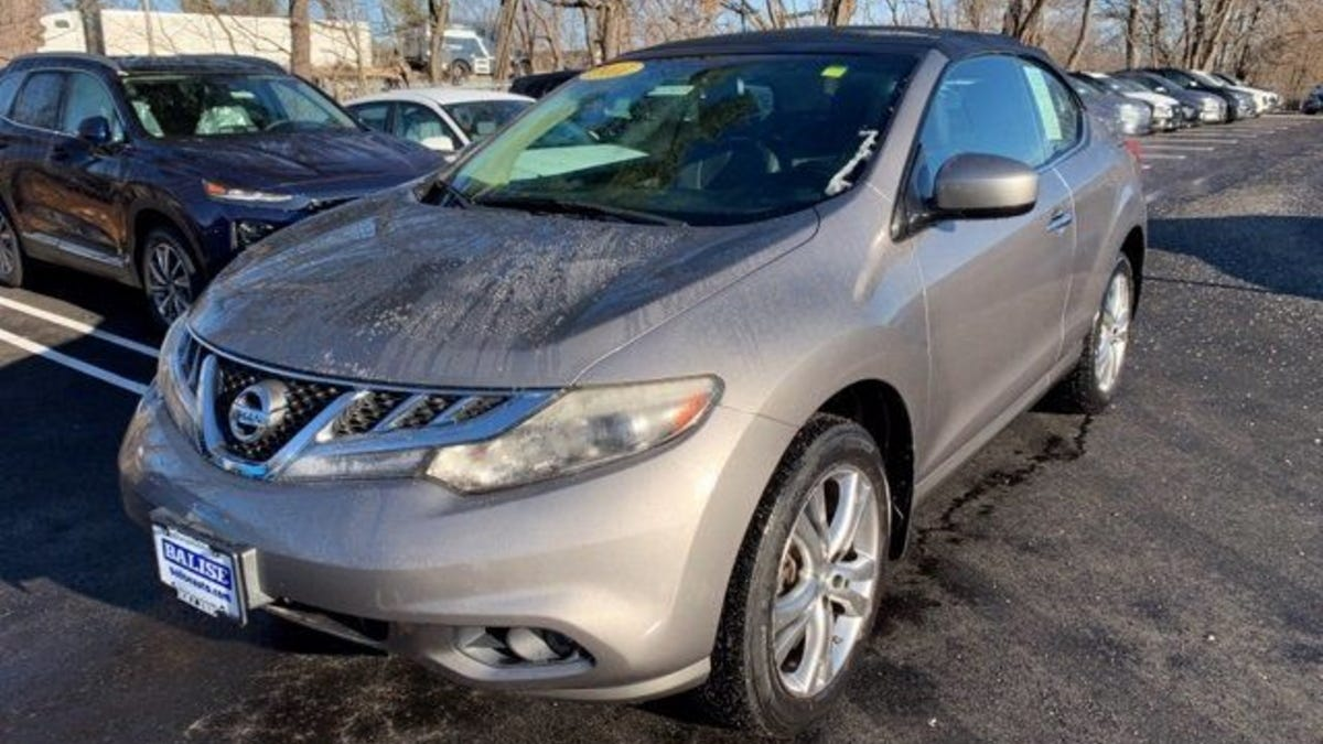 At $10,996, Would You Buy This 2011 Nissan Murano CrossCabriolet?