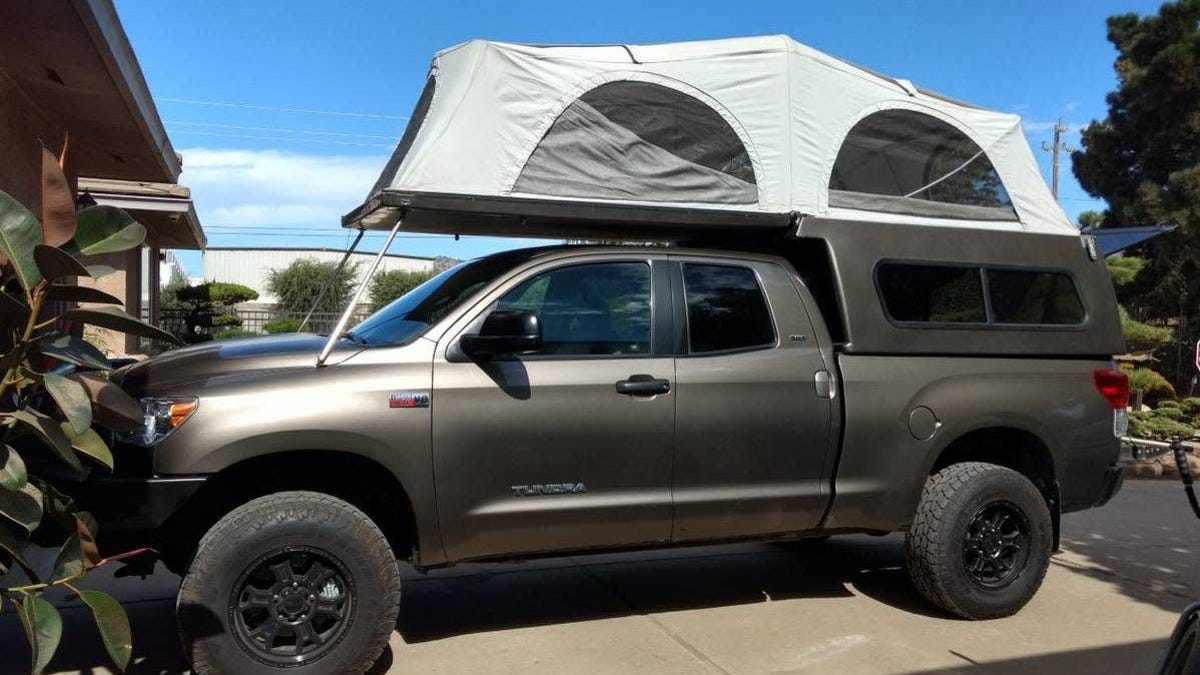 At 26 000 Is This 2010 Toyota Tundra Camper Totally Over The Top