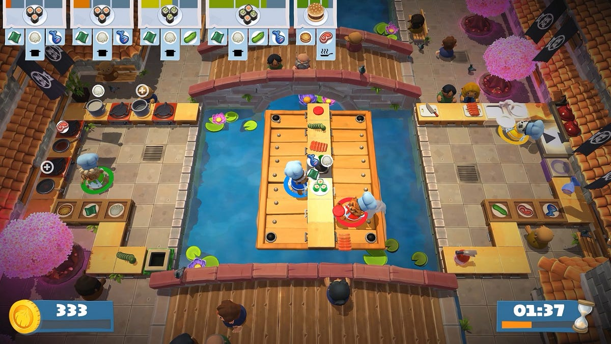 Overcooked 2 Is Free On Switch This Weekend, If You Want To Be Alone On Valentine's Day