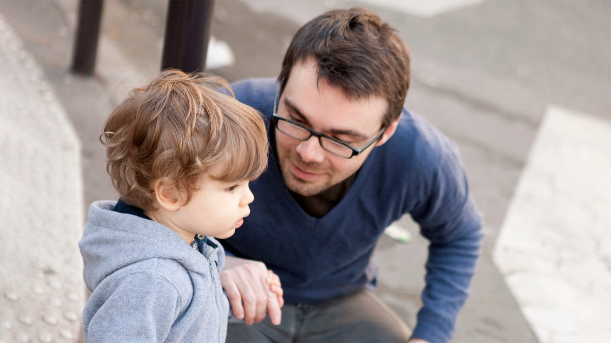 Entirety Of Objectionable Human Behavior Explained To Toddler As Person Acting Silly