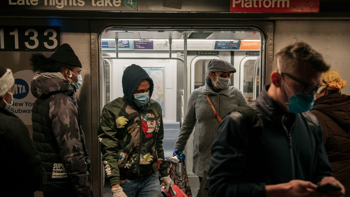 MTA: If Only Masked iPhone Users Could Unlock Their Phones Some Other Way