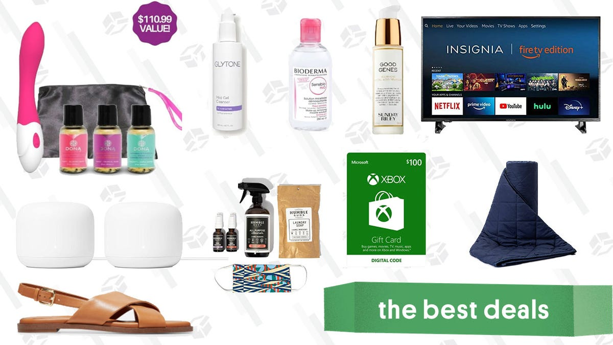 Thursday's Best Deals: Insignia Fire TV, AirPods Pro, Google Nest WiFi, Cole Haan Sale, XBOX Gift Cards, and More