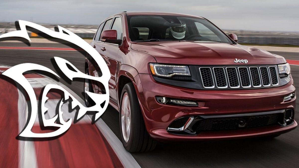 707 Horsepower Jeep Grand Cherokee Hellcat Confirmed For 2017