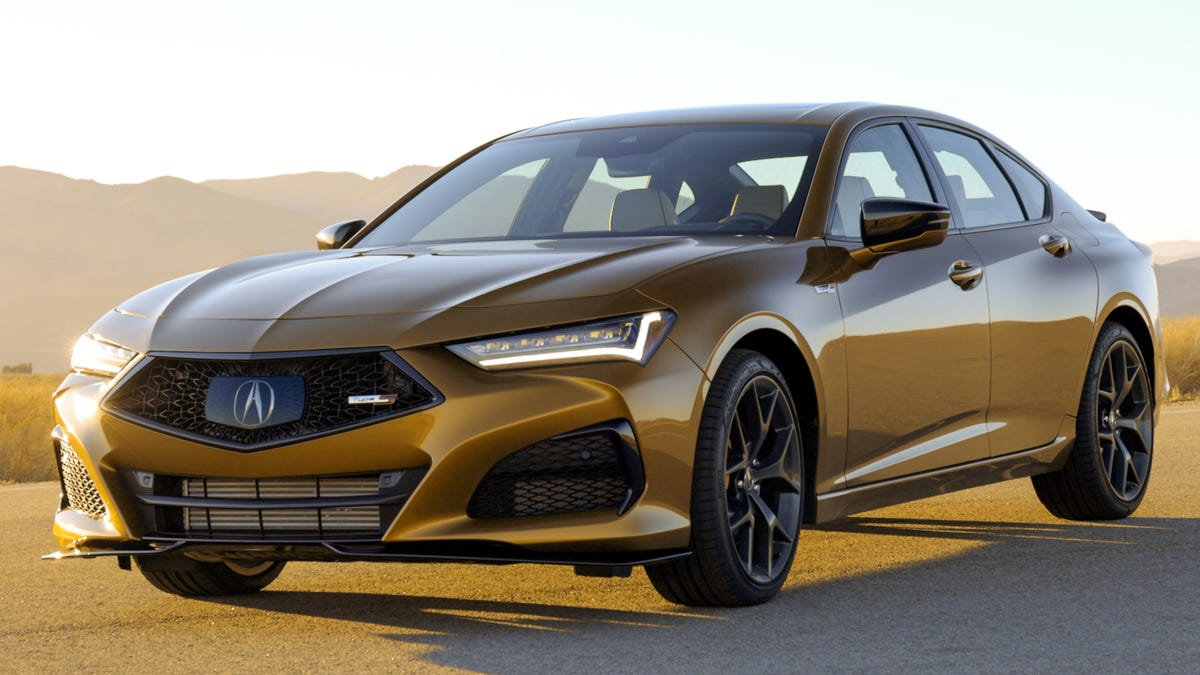 The 2021 Acura TLX Type S Will Make 355 HP And Start In The 'Low $50,000s'