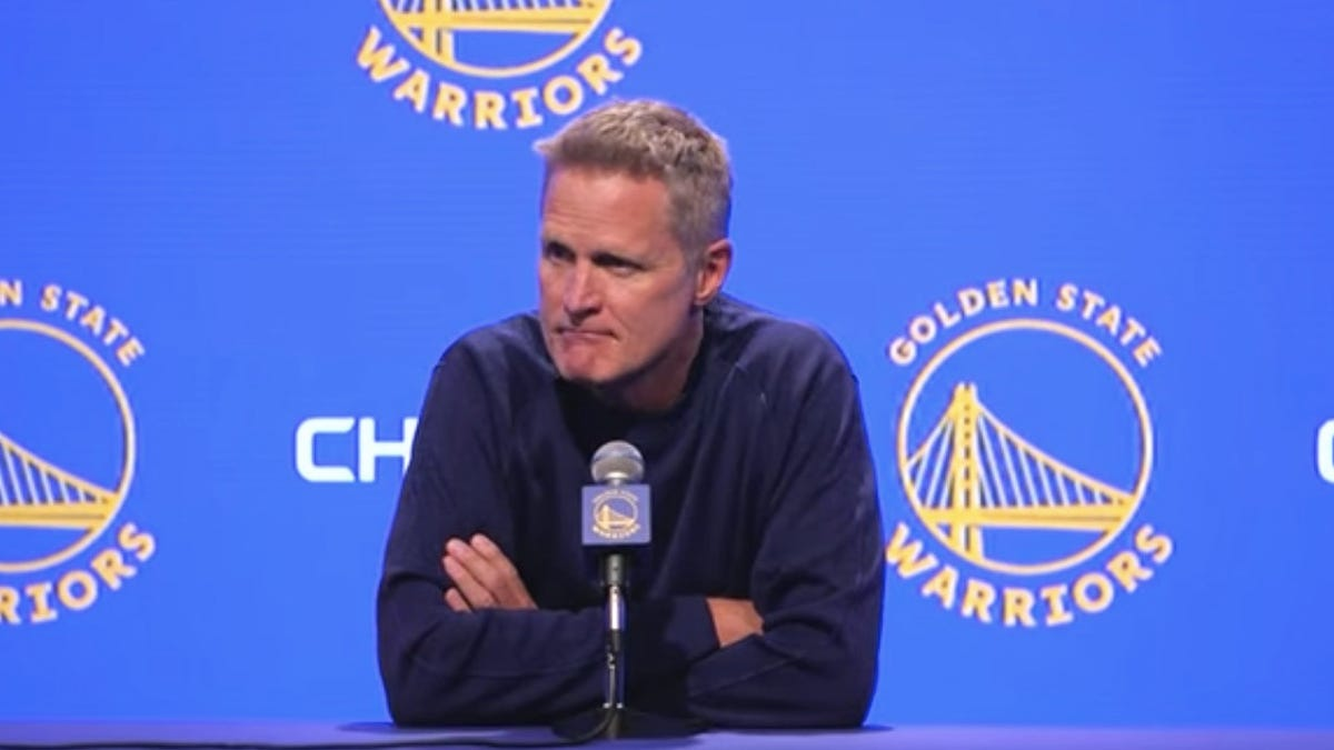 Steve Kerr Reminds Us Who The NBA's Unifying Powers Really Serve