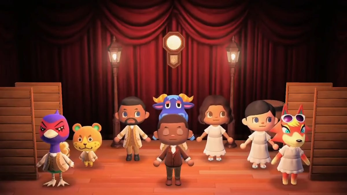 Someone Recreated The Entire First Act Of Hamilton In Animal Crossing