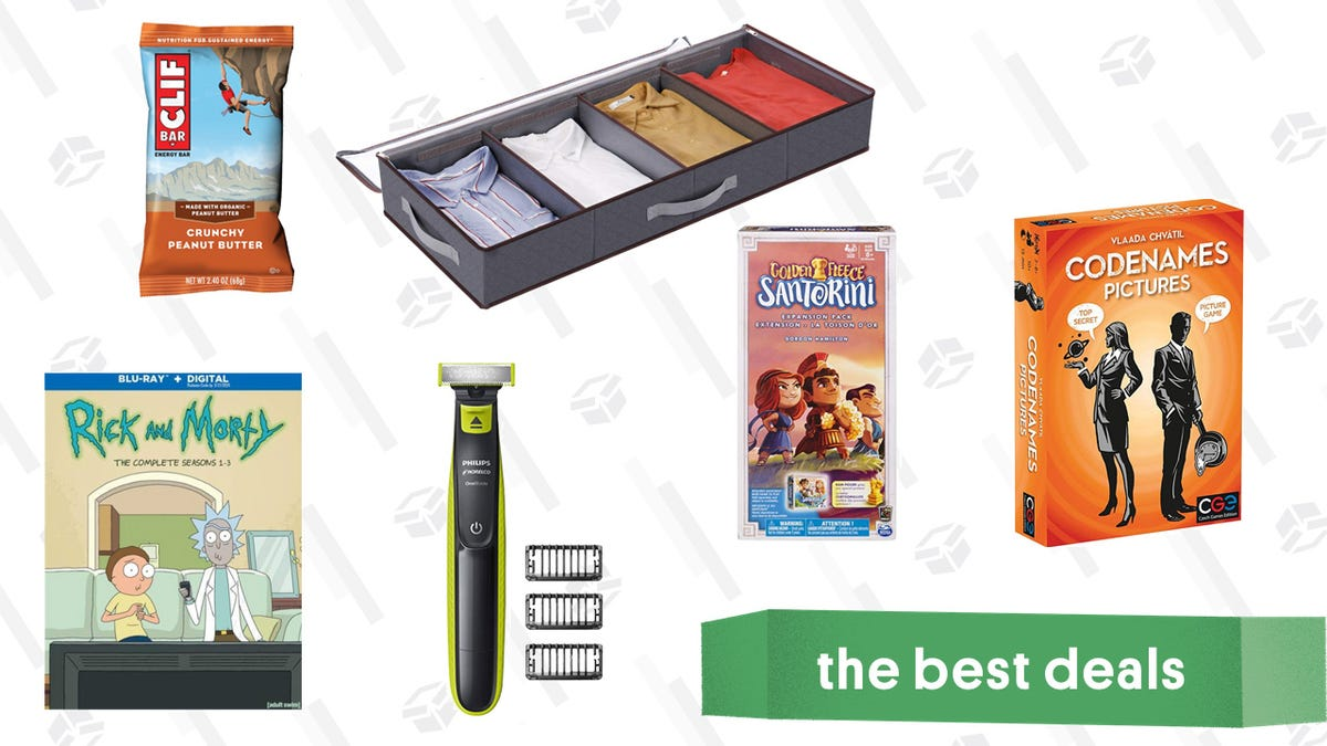 Friday's Best Deals: Rick and Morty, Strategy Board Games, OneBlade, and More