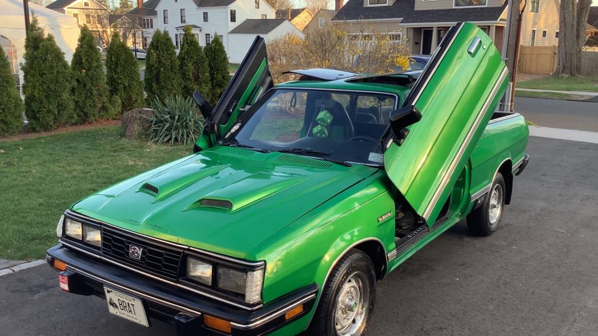 At $9,500, Is This Custom 1985 Subaru BRAT GL A Deal?