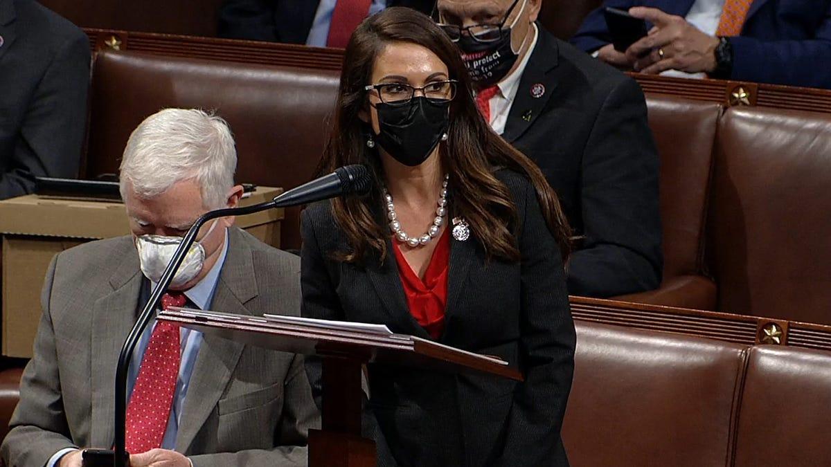 House Rep Says Gun Congresswoman Lauren Boebert Gave a Tour Just Before the Capitol Riot