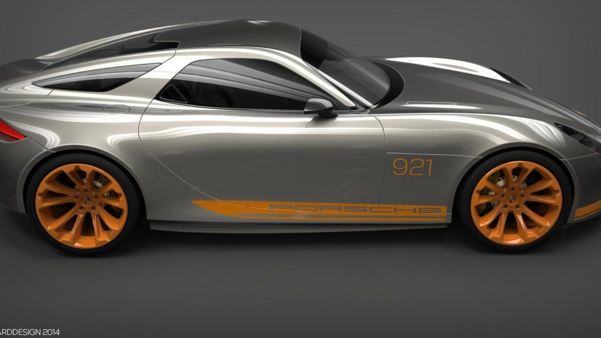 2020 Porsche 928Concept Price and Review