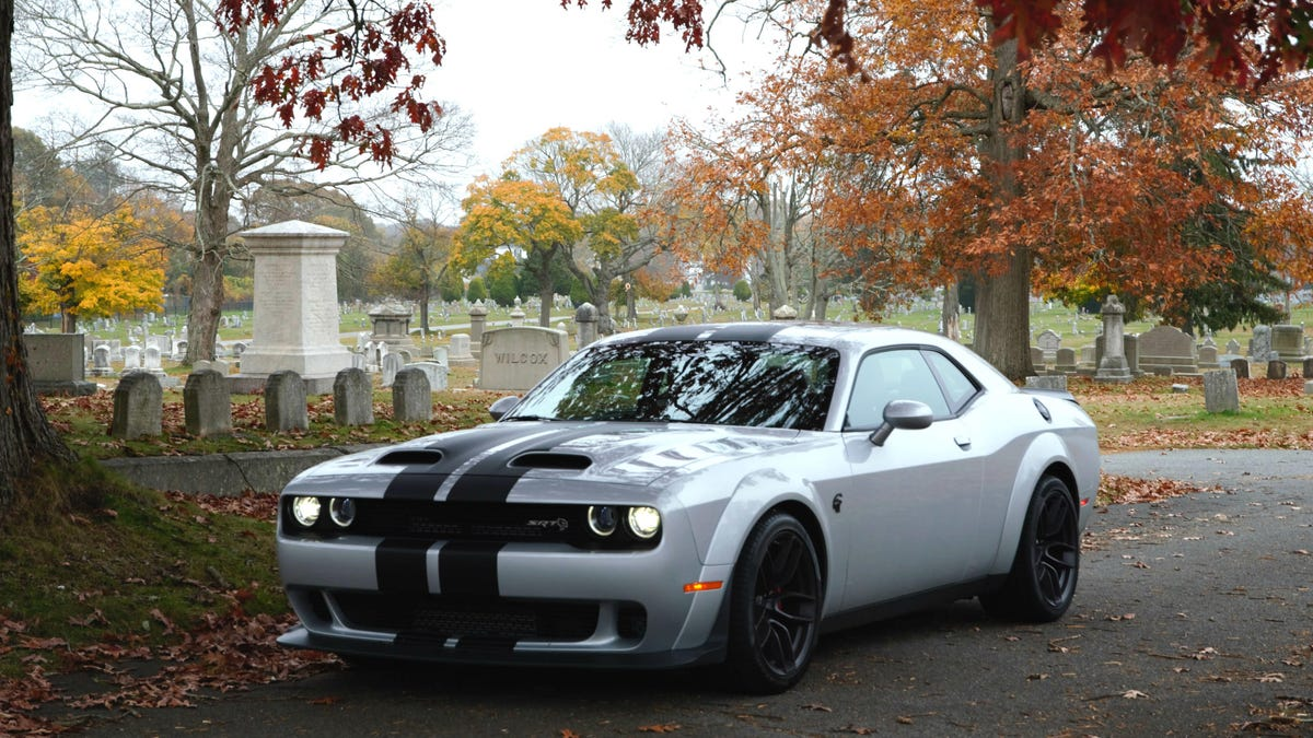 My Halloween Road Trip In A 797-HP Challenger Redeye Got Real Spooky