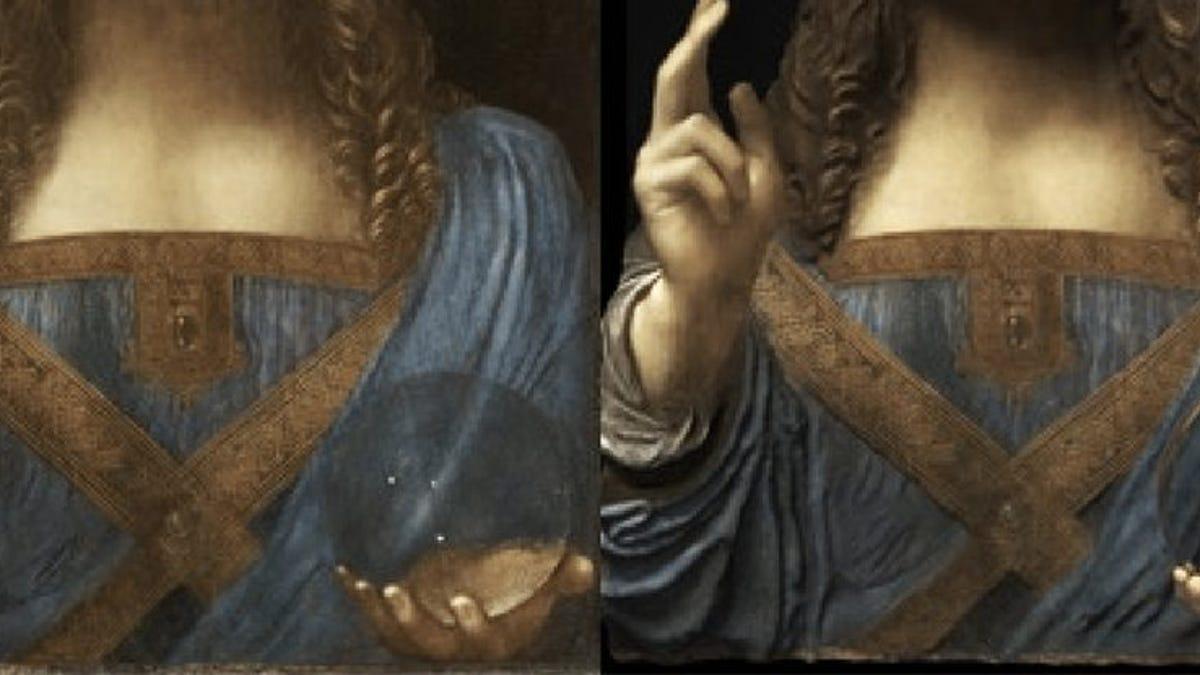Descifran el misterio de la esfera de Salvator Mundi, la famosa obra de Leonardo da Vinci