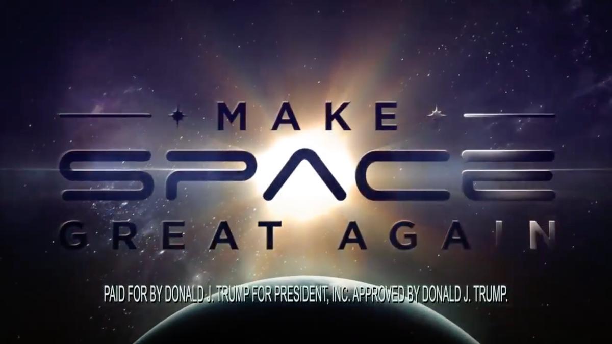 NASA Astronaut Calls Out 'Propaganda' in Space-Themed Trump Ad That Broke NASA Rules