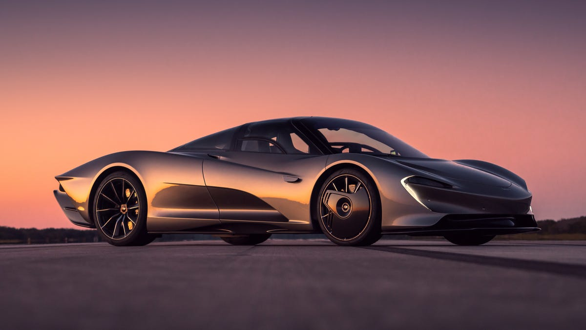 Mclaren For Sale >> The McLaren Speedtail His 250 MPH Over 30 Times During Testing