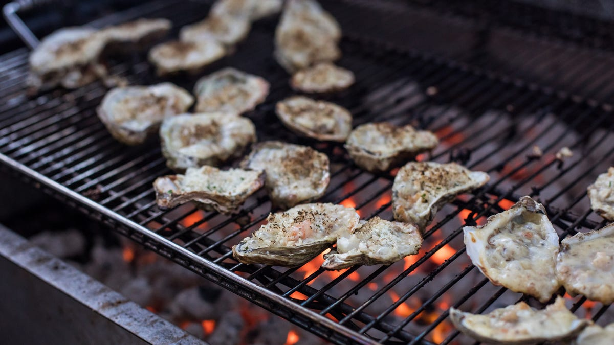 Grill your oysters for a little decadence at home