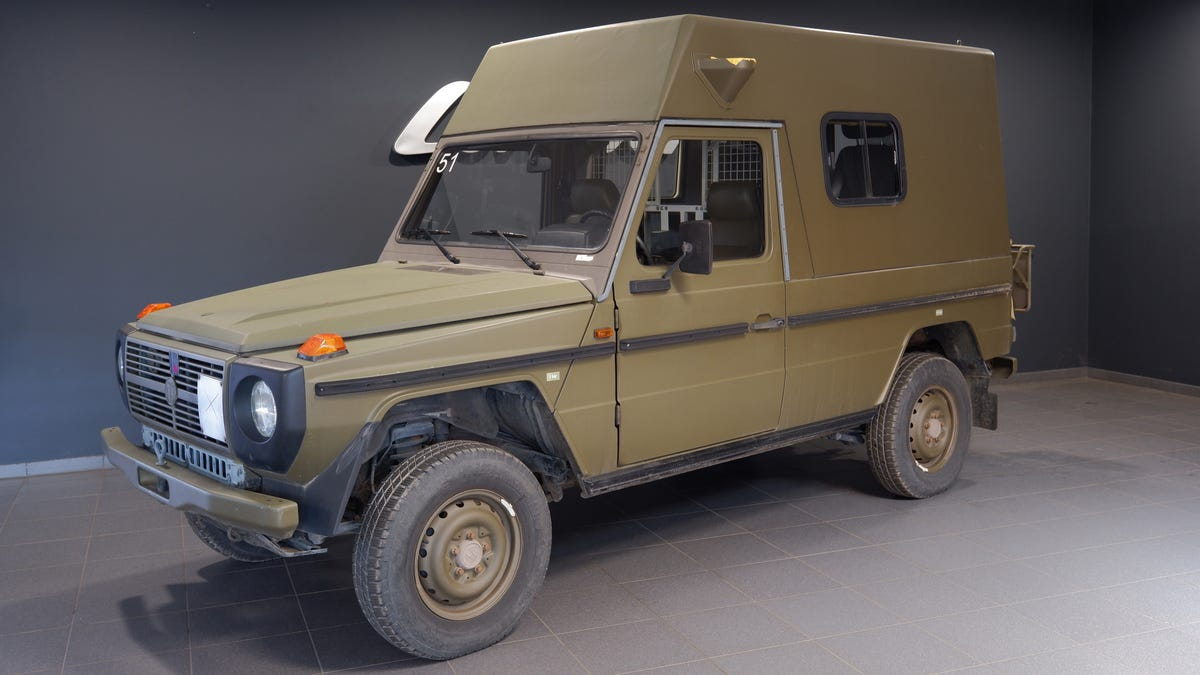 Hot Damn You Can Buy A Mother Lode Of Good Cheap Swiss Military G-Wagens