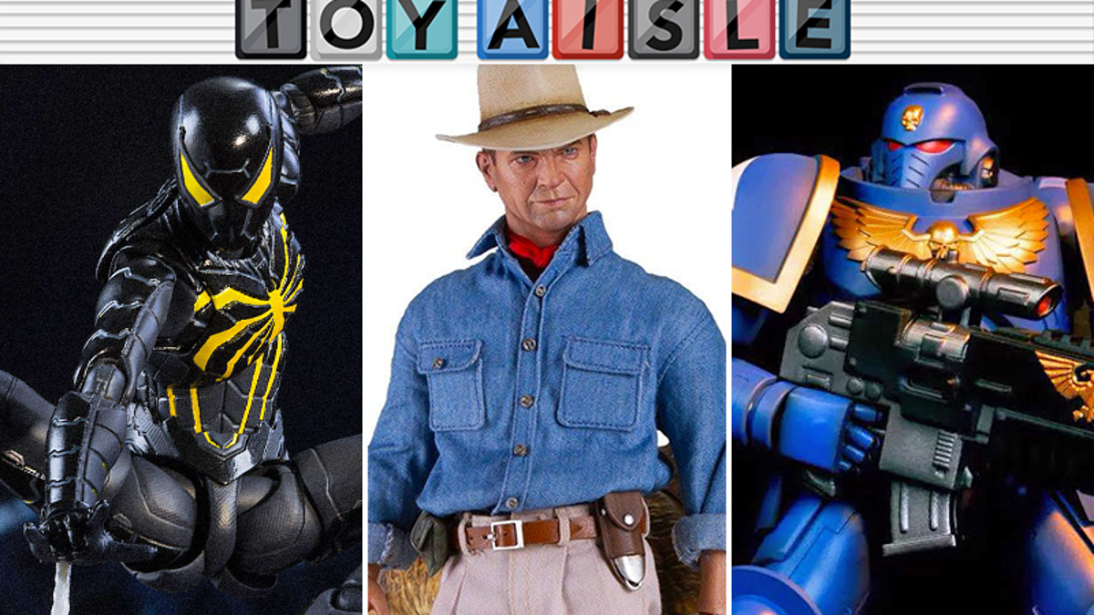 Jurassic Park's Dr. Grant Gets a Rad Figure, and More of the Cleverest Toys of the Week