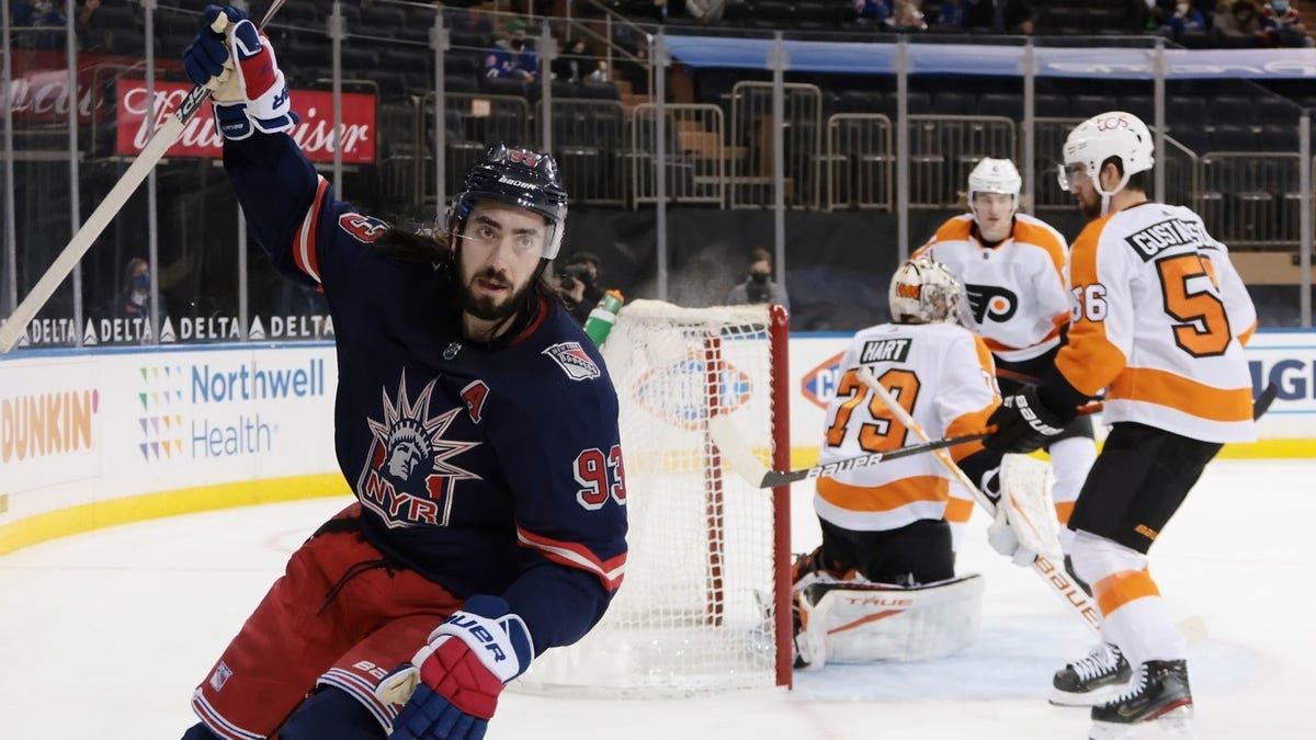 Flyers need to shake off epic Rangers beatdown in a hurry, and history's on their side
