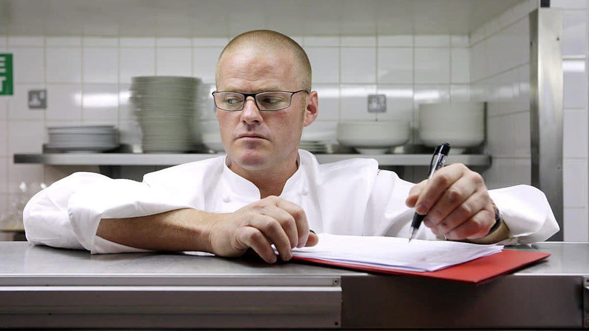 Celebrated chef Heston Blumenthal wades into dangerous women-in-kitchens territory