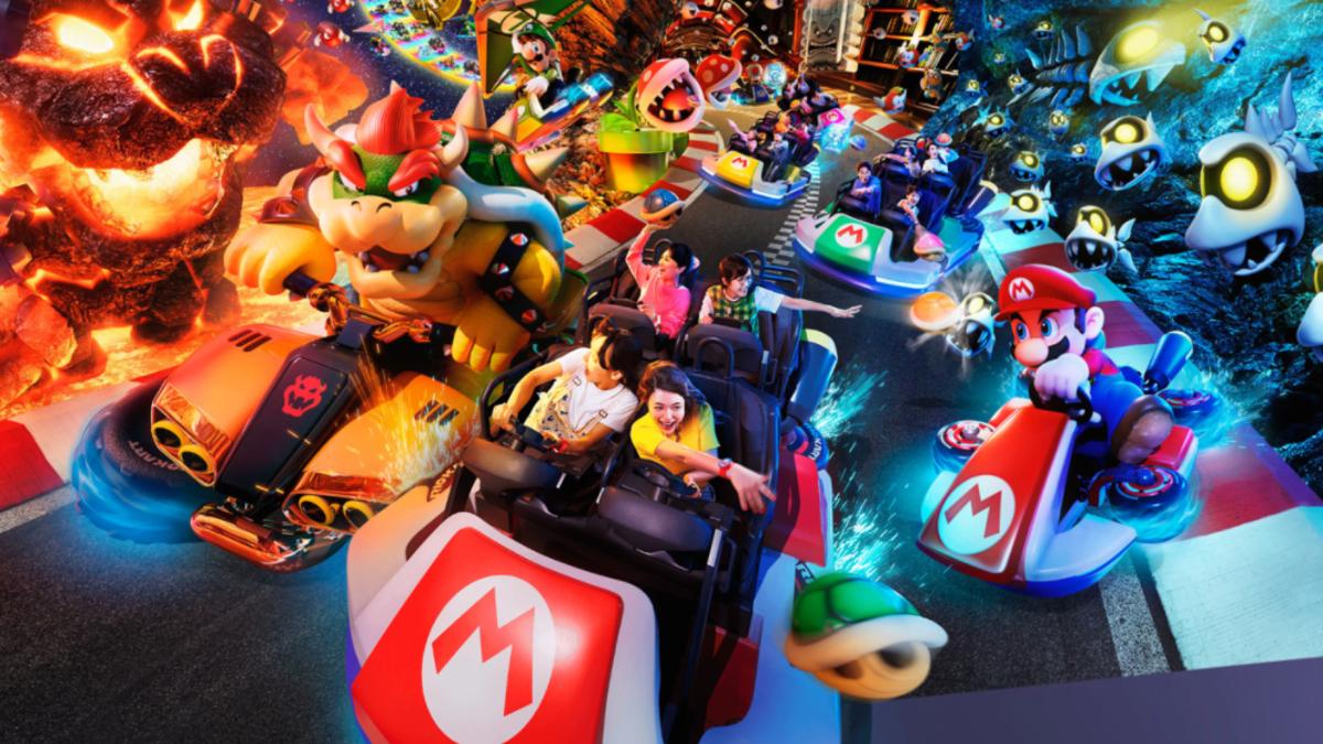 Super Nintendo World Will Finally Open In Japan On March 18