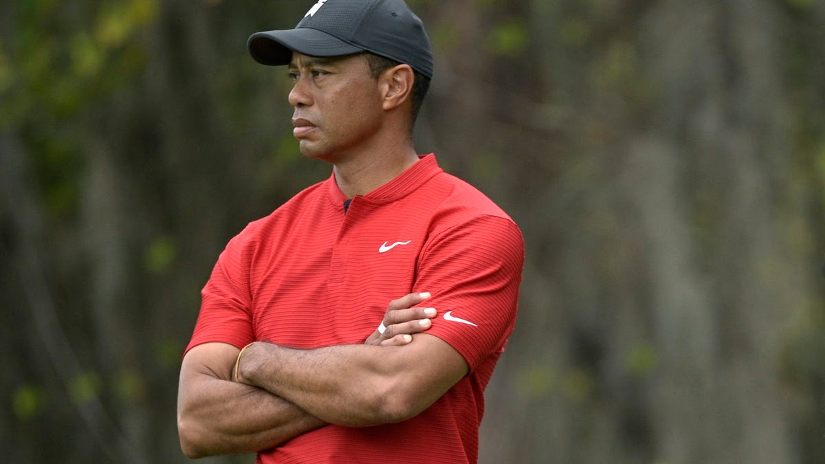 Thinking on Tiger Woods and the rollover accident he was lucky to survive