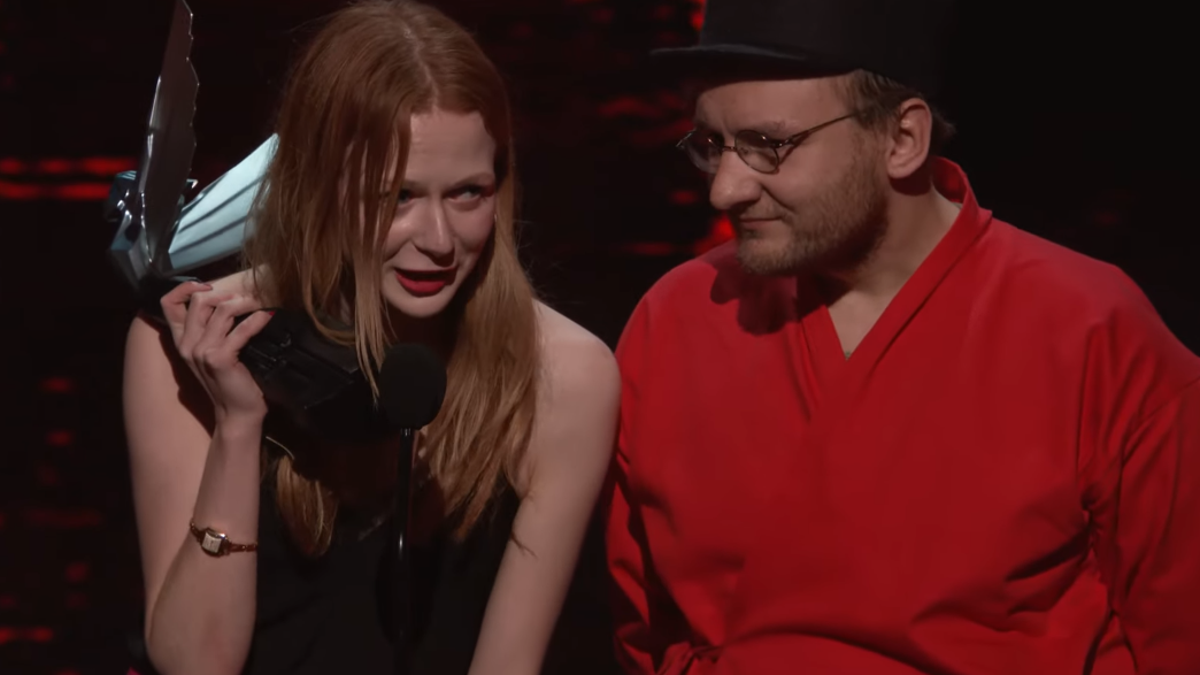 Disco Elysium Shout Out Marx And Engels In Game Awards Victory Speech