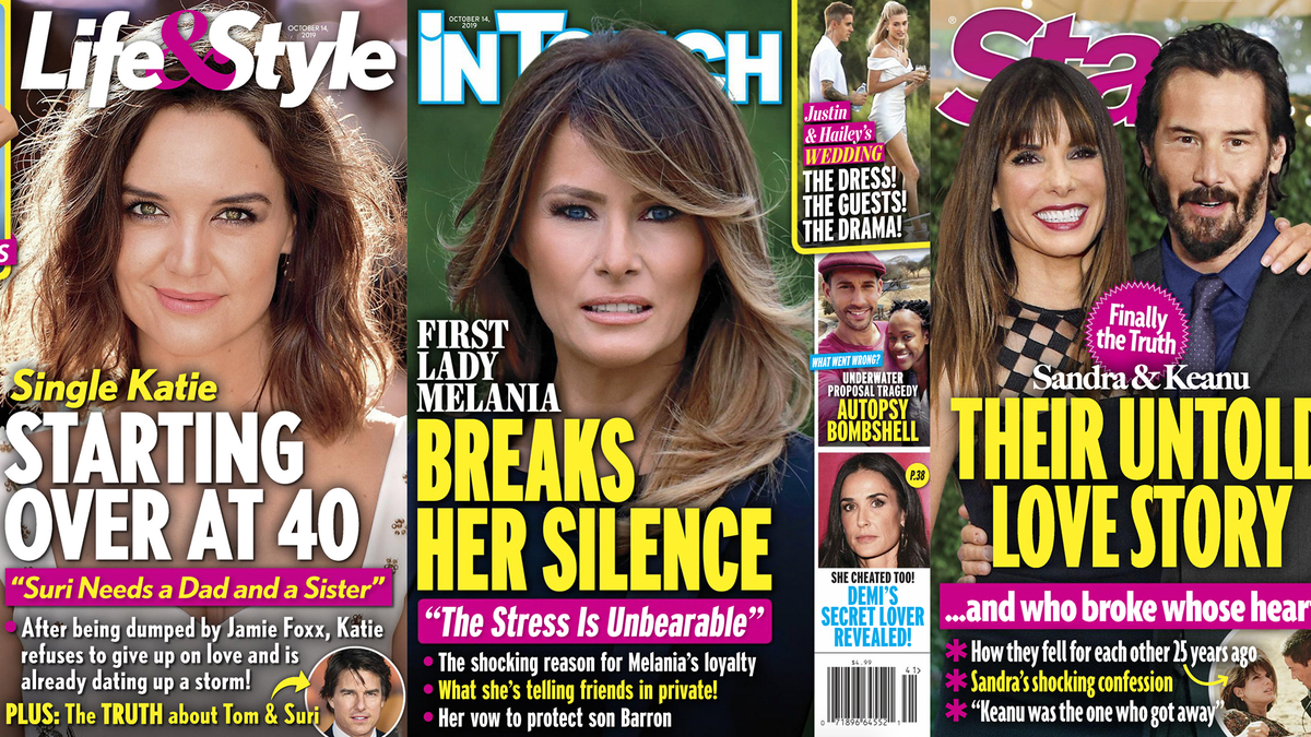 This Week in Tabloids: Name One Person Who's Ever Called Melania the 'Slovenian Sphinx'!
