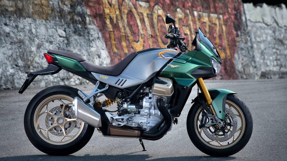 Moto Guzzi feiert 100 Jahre mit einem unglaublichen neuen Motorrad€