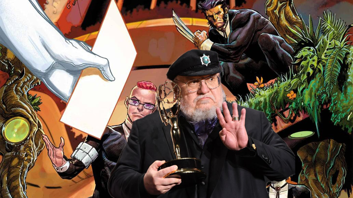 Why Is George R.R. Martin Going to the Hellfire Gala and Not Writing Winds of Winter? thumbnail