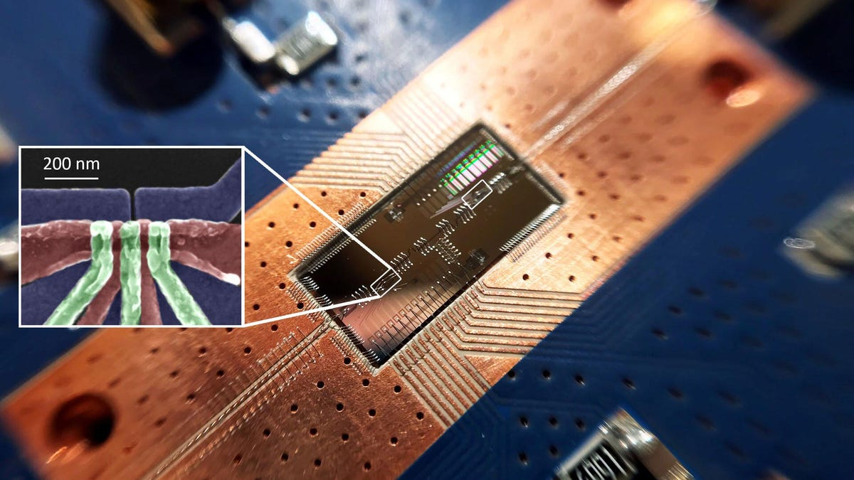 Scientists Link Silicon Qubits Over (Relatively) Huge Distances - Gizmodo