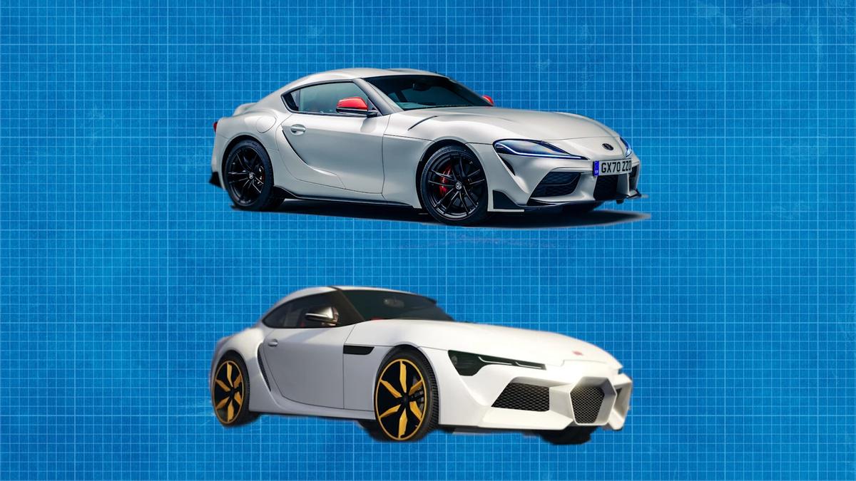 Der legendäre Designer sagt, die GTA-Version des Supra sieht besser aus als der echte. Was denkst du?€