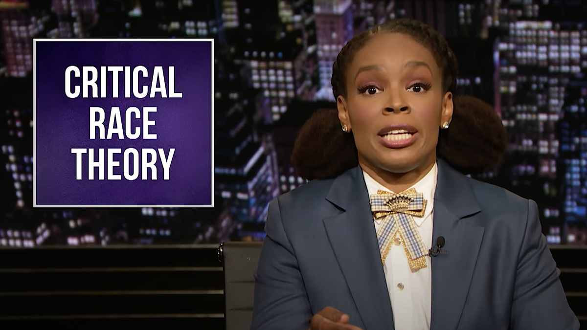 Amber Ruffin schools white America about critical race theory