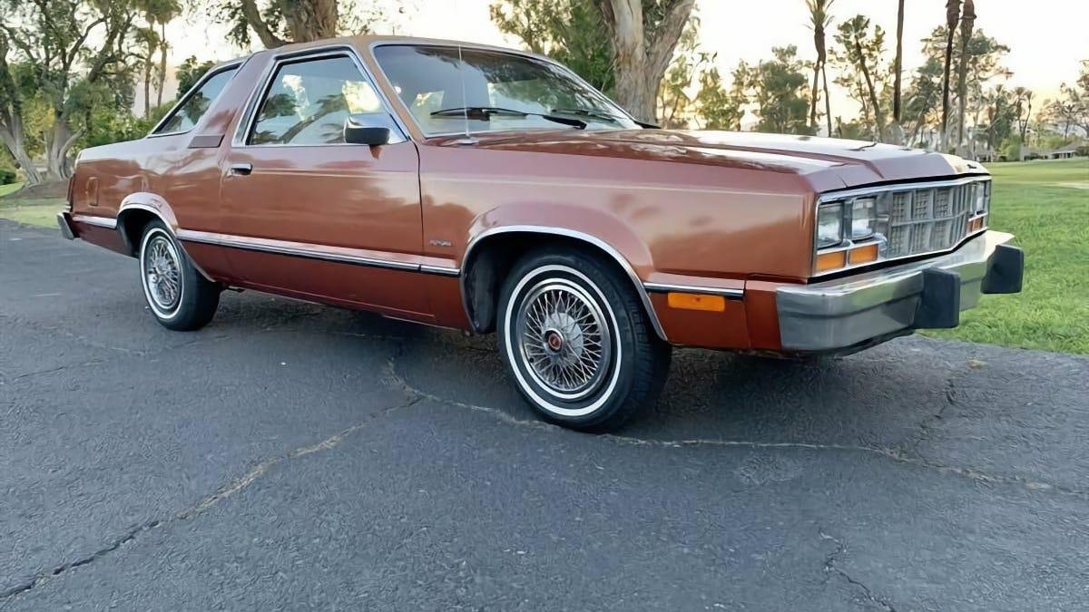 Bei $ 13.500, könnten Sie sehen, diese 79 Ford Fairmont Futura in Ihre Zukunft?