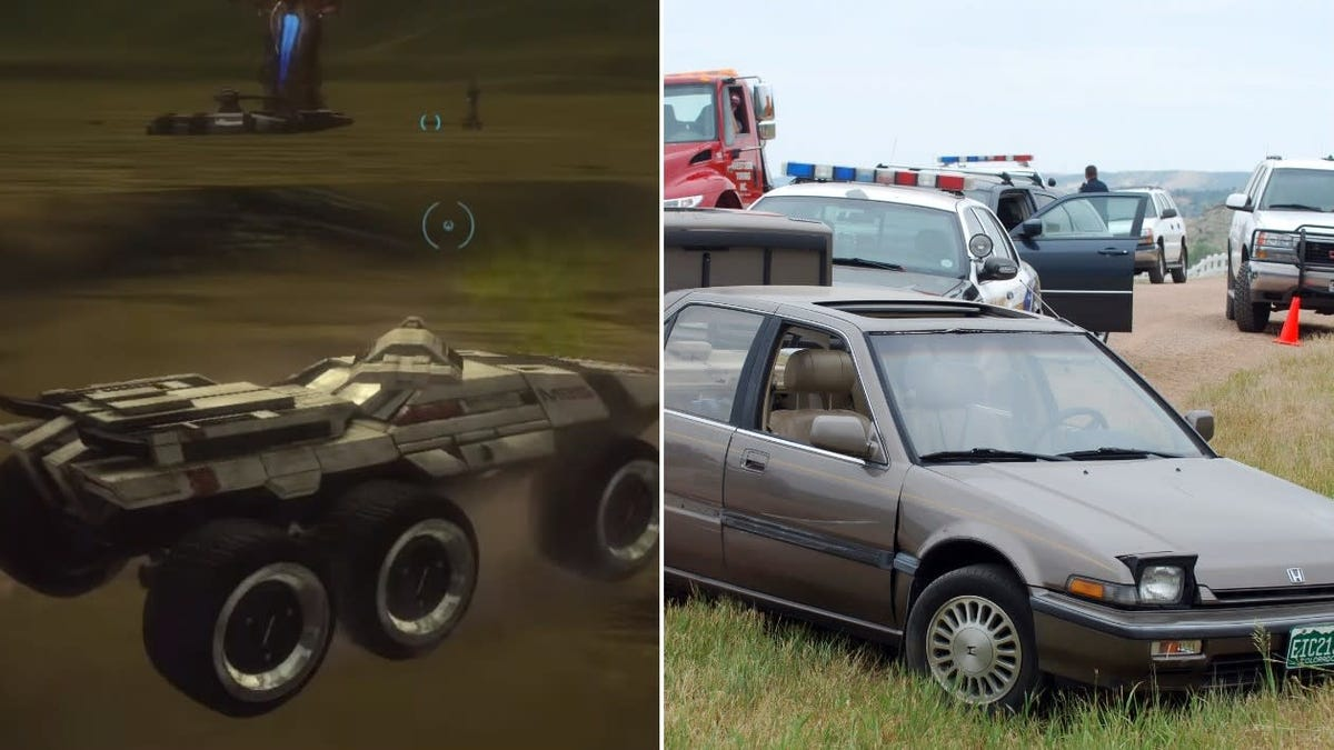 Replace Mass Effect's awful Mako tank with this nice Honda, please