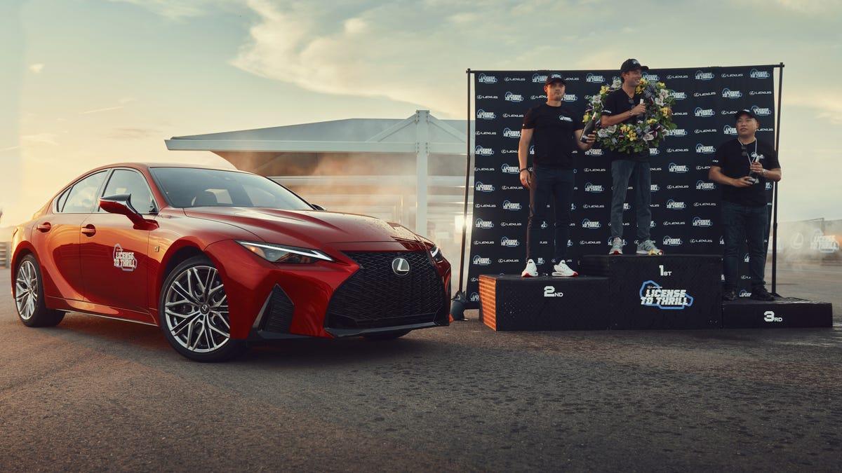 Treffen Sie den Gewinner des Lexus 'License To Thrill' Rennens
