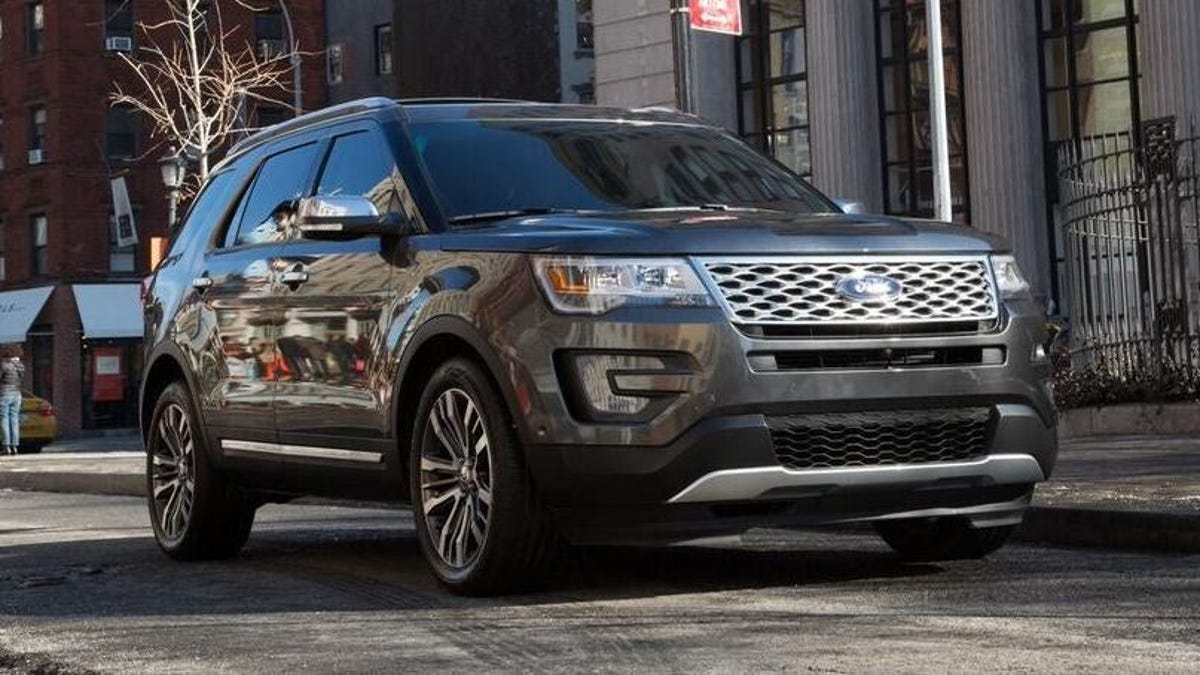 Ford Is Recalling Over 774,696 Explorers Because Of Possible Seized Ball Joints