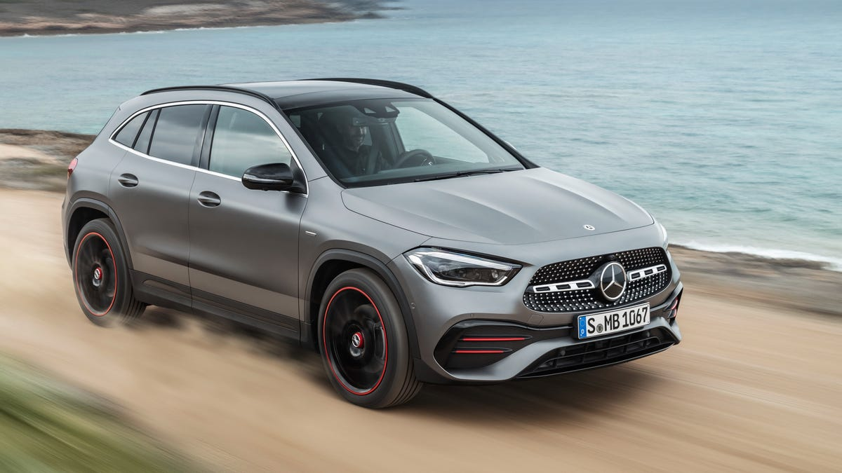 The 2021 Mercedes-Benz GLA 250 Is Bigger And Has 221 HP