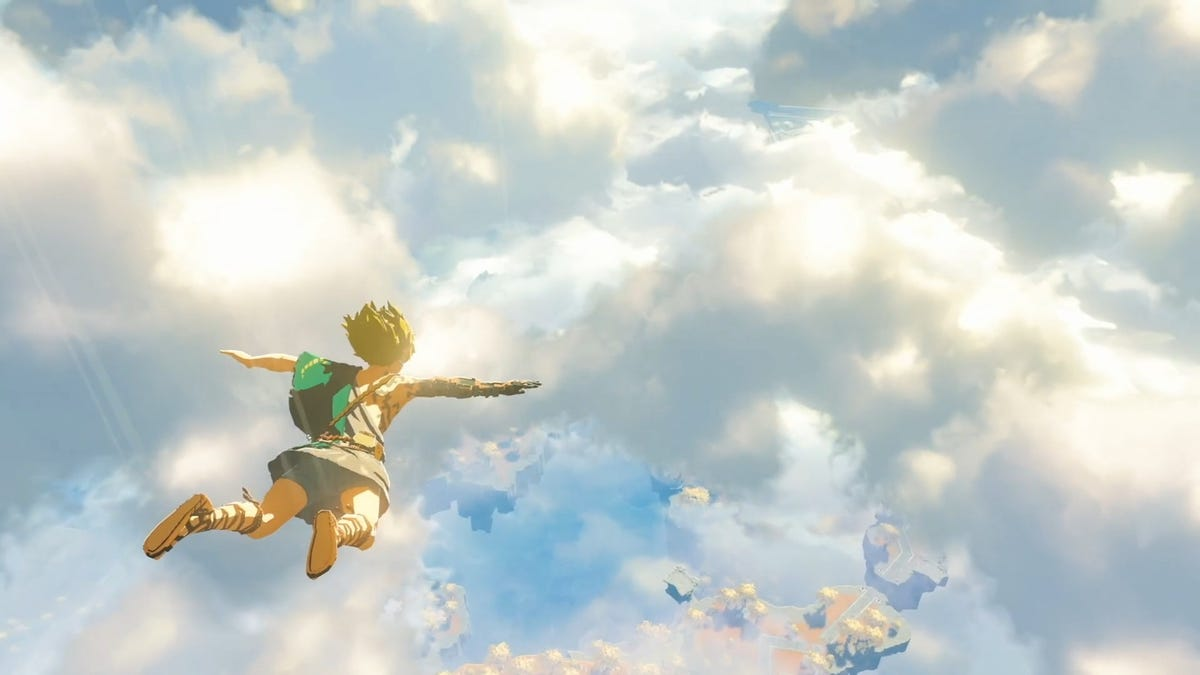 Breath of the Wild 2 gameplay shows Link flying with all-new powers
