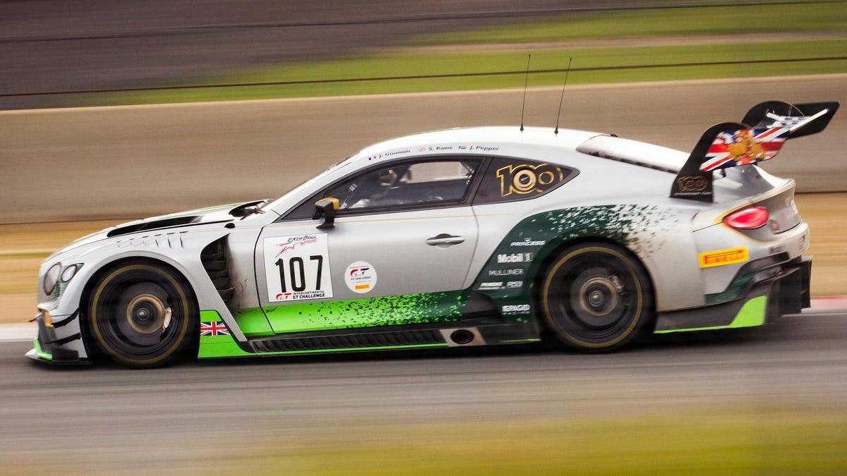 Bentley arbeitet an einem elektrischen Continental-Rennwagen für die FIA EGT