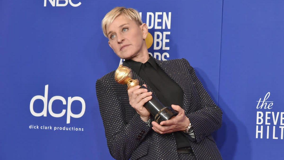 Ellen DeGeneres is rambling about weed drinks