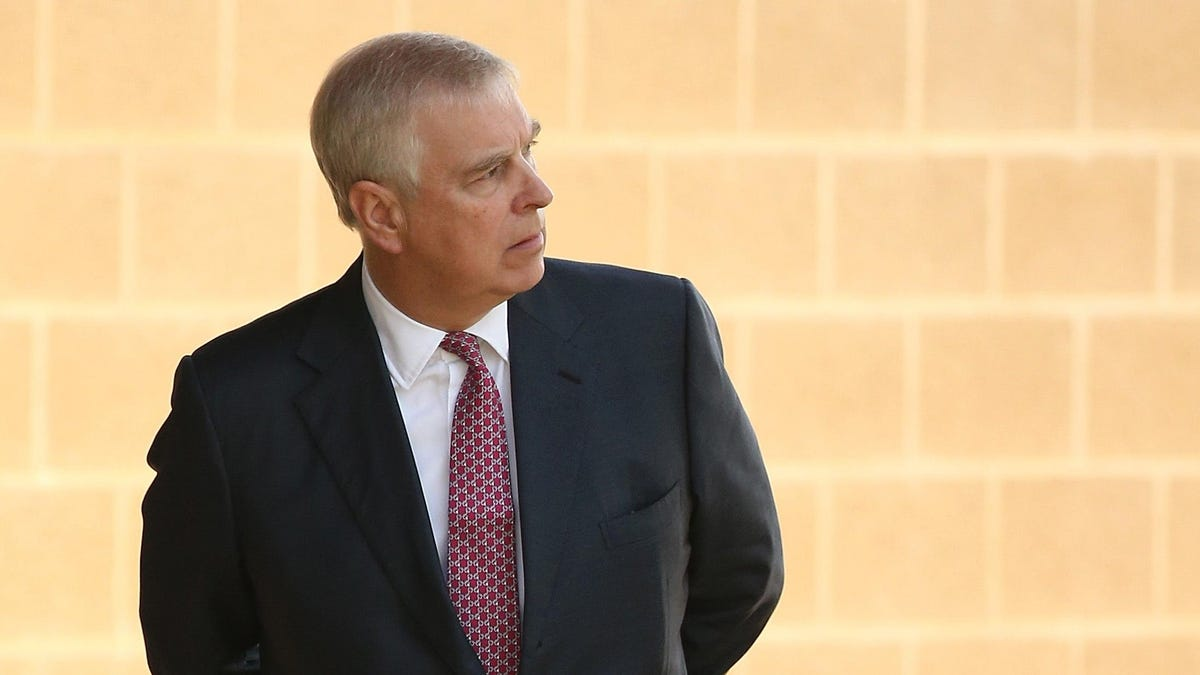 Prince Andrew Sounds Truly Rattled