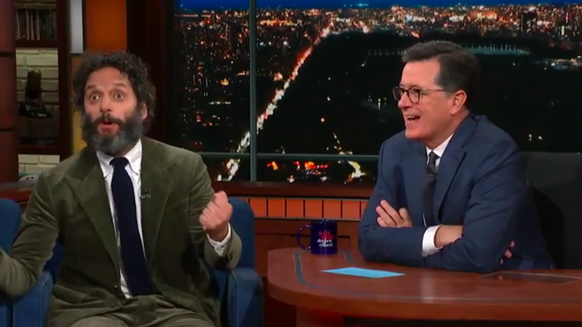 """Cult leader"" Jason Mantzoukas foments revolt among The Late Show's audience"